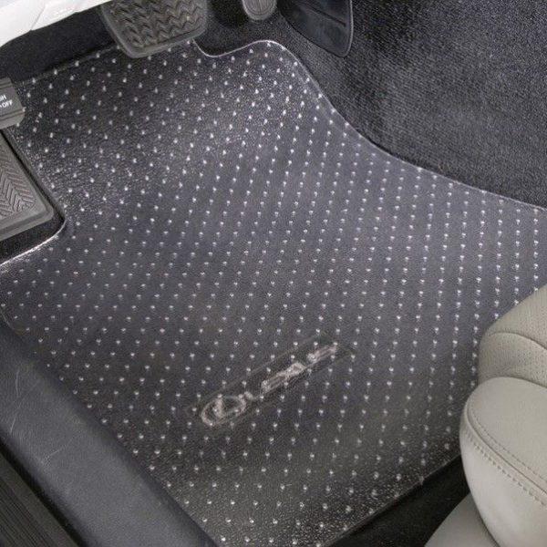 Vinyl Floor Mats >> Awesome Clear Vinyl Floor Mats Protectors Front Only Custom
