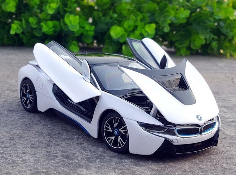 Amazing Rastar 1 24 Bmw I8 Concept Car Diecast Model New In Box