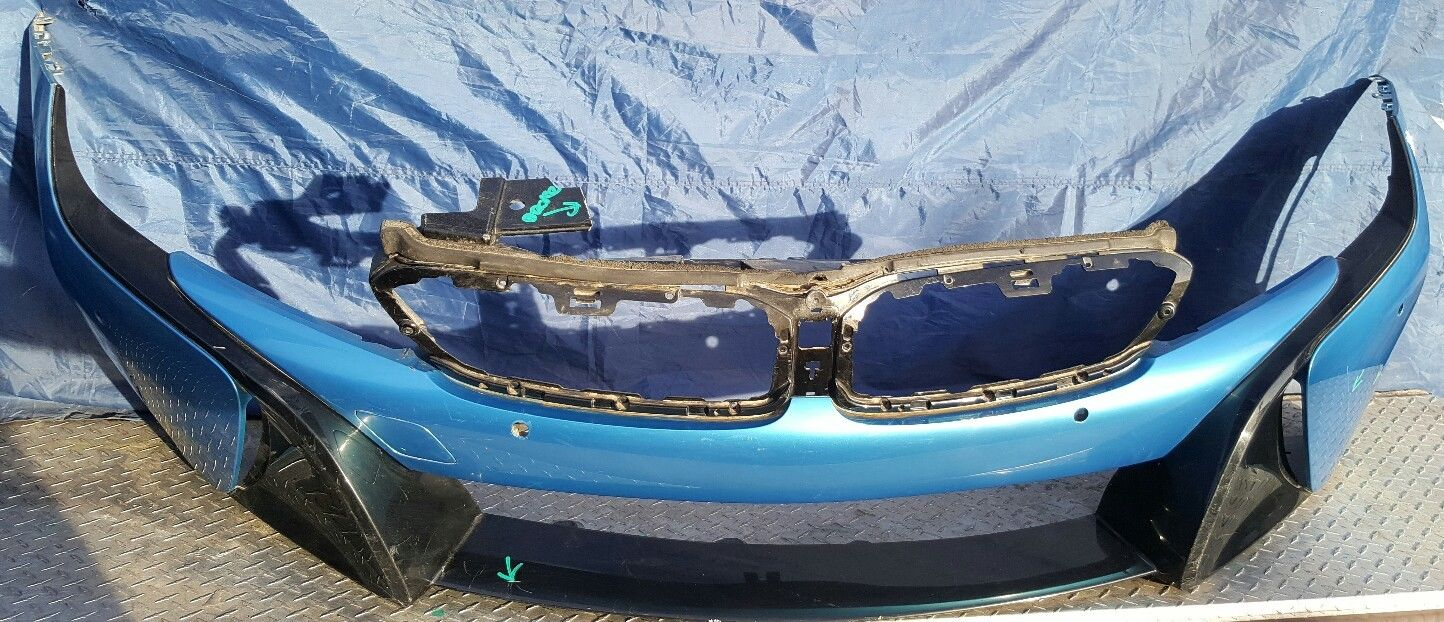 Awesome 2015 2016 Bmw I8 Front Bumper Cover 2017 2018 Mycarboard