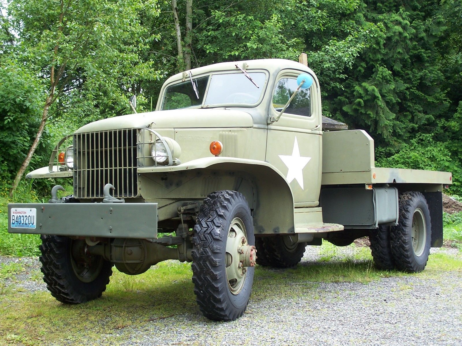 1942 Chevrolet Other Pickups 1942 Chevy 506g Military Truck 270
