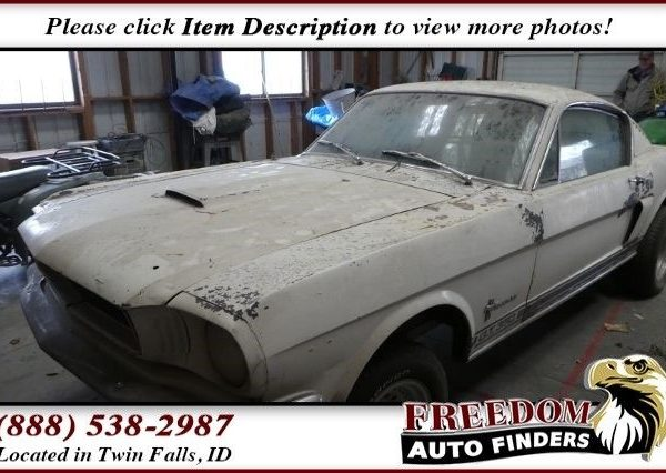 Amazing 1965 Ford Mustang Fastback Ford Mustang with 0 Miles, for sale!  2018-2019
