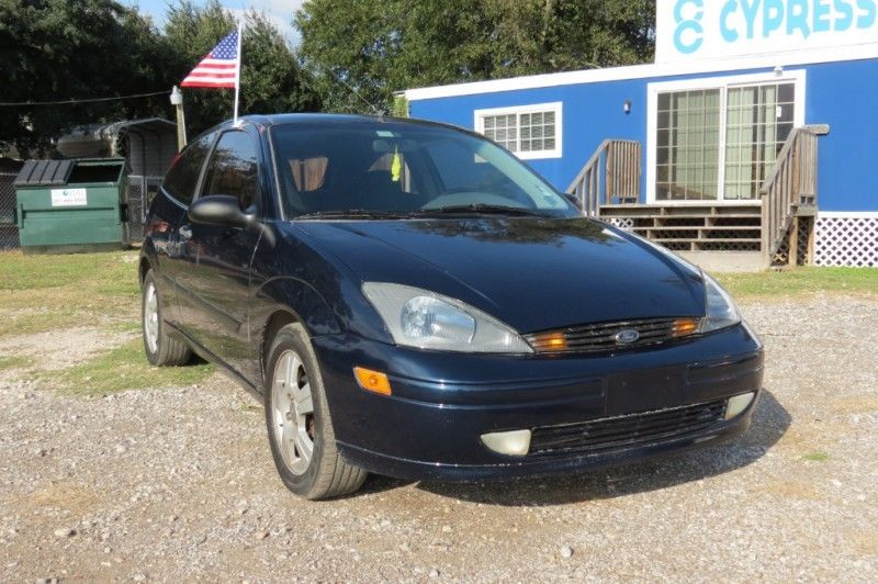 Great 2003 Ford Focus Zx3 2003 Ford Focus Zx3 153694 Miles Blue