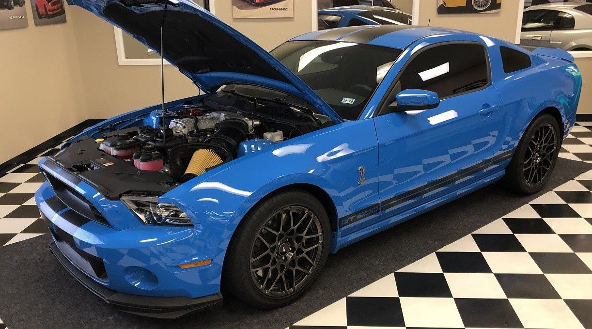 Amazing 2013 ford mustang shelby gt500 2013 mustang shelby gt500 svt performance pack track pack grabber blue low miles 2018 2019