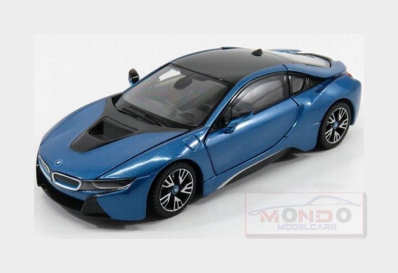 Awesome Bmw I8 Hybrid 2015 Light Blue Met Rastar 1 24 Ras56500bl Mmc