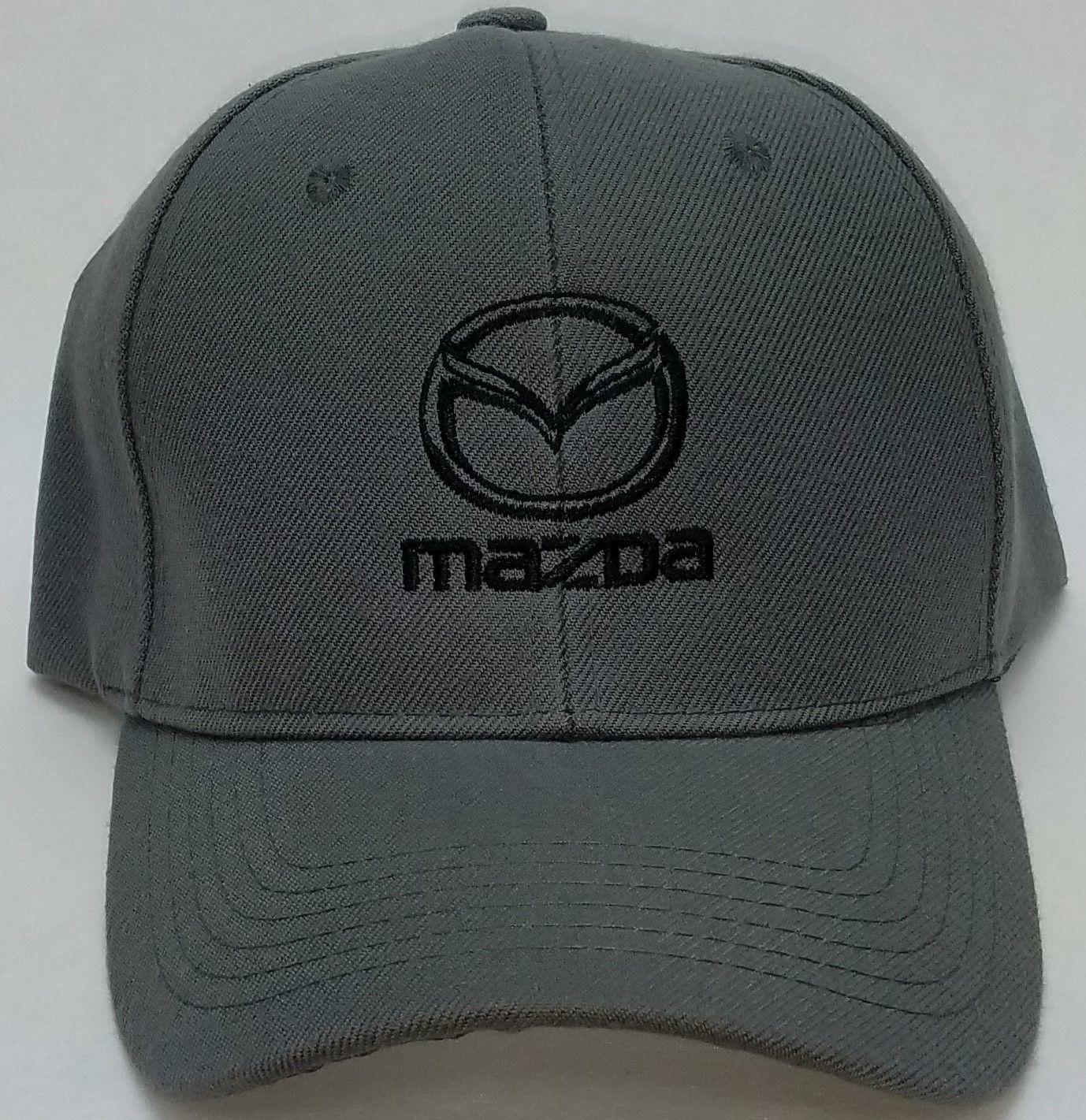 7ca0d54a4f92e Great Mazda Embroidered Baseball Hat Cap Adjustable Strap CX-3   MX-5 Miata    Mazda 3 2017 2018