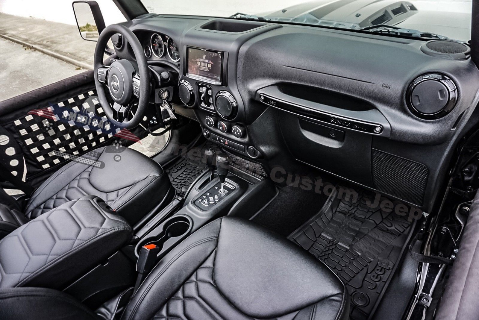 great 2017 jeep wrangler custom unlimited sport utility 4. Black Bedroom Furniture Sets. Home Design Ideas