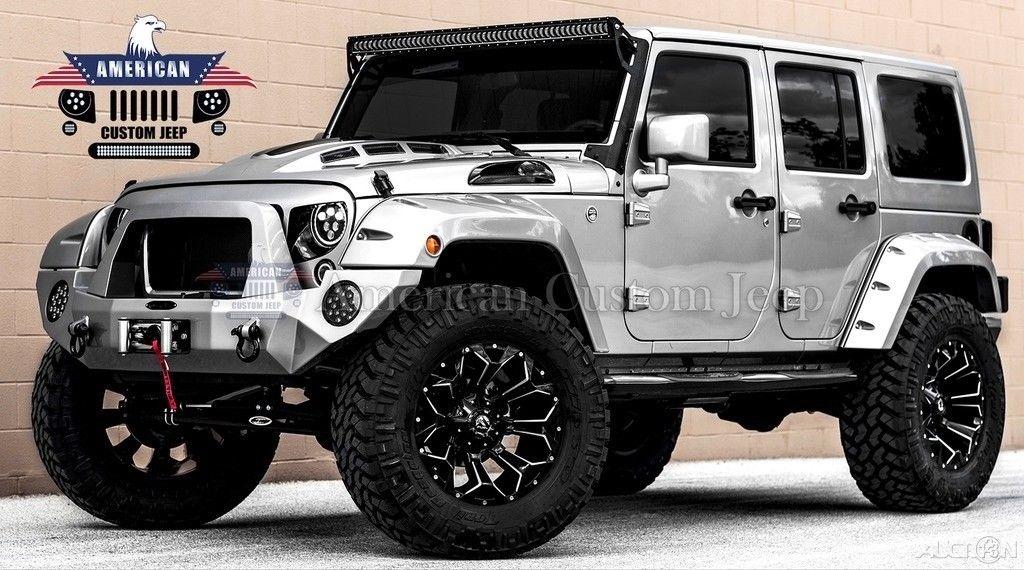 Awesome 2018 Jeep Wrangler Custom Unlimited Sport Utility ...