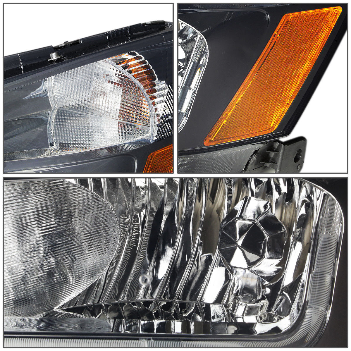 Great Led Drlfor 2003 2007 Honda Accord Smoked Housing Amber Side Tail Light Item Specifics