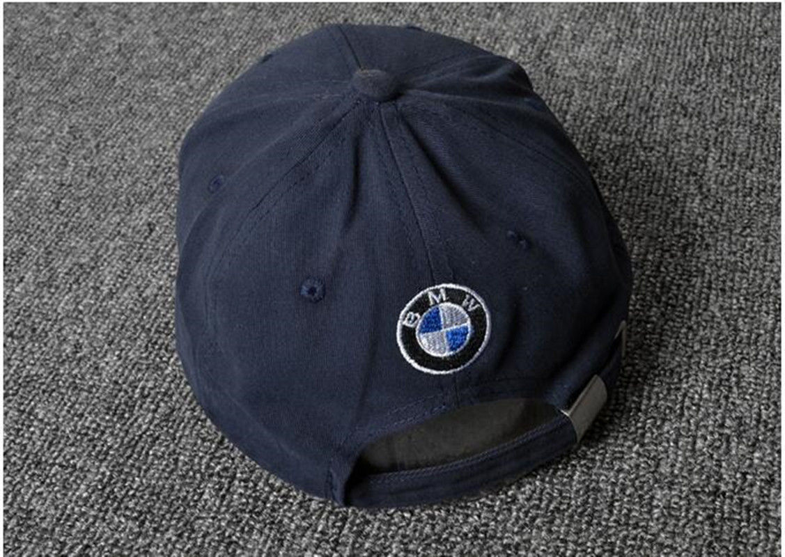 b8923b5ccf1 Great BMW logo Blue Black Baseball Cap Embroidered Logo Adjustable ...