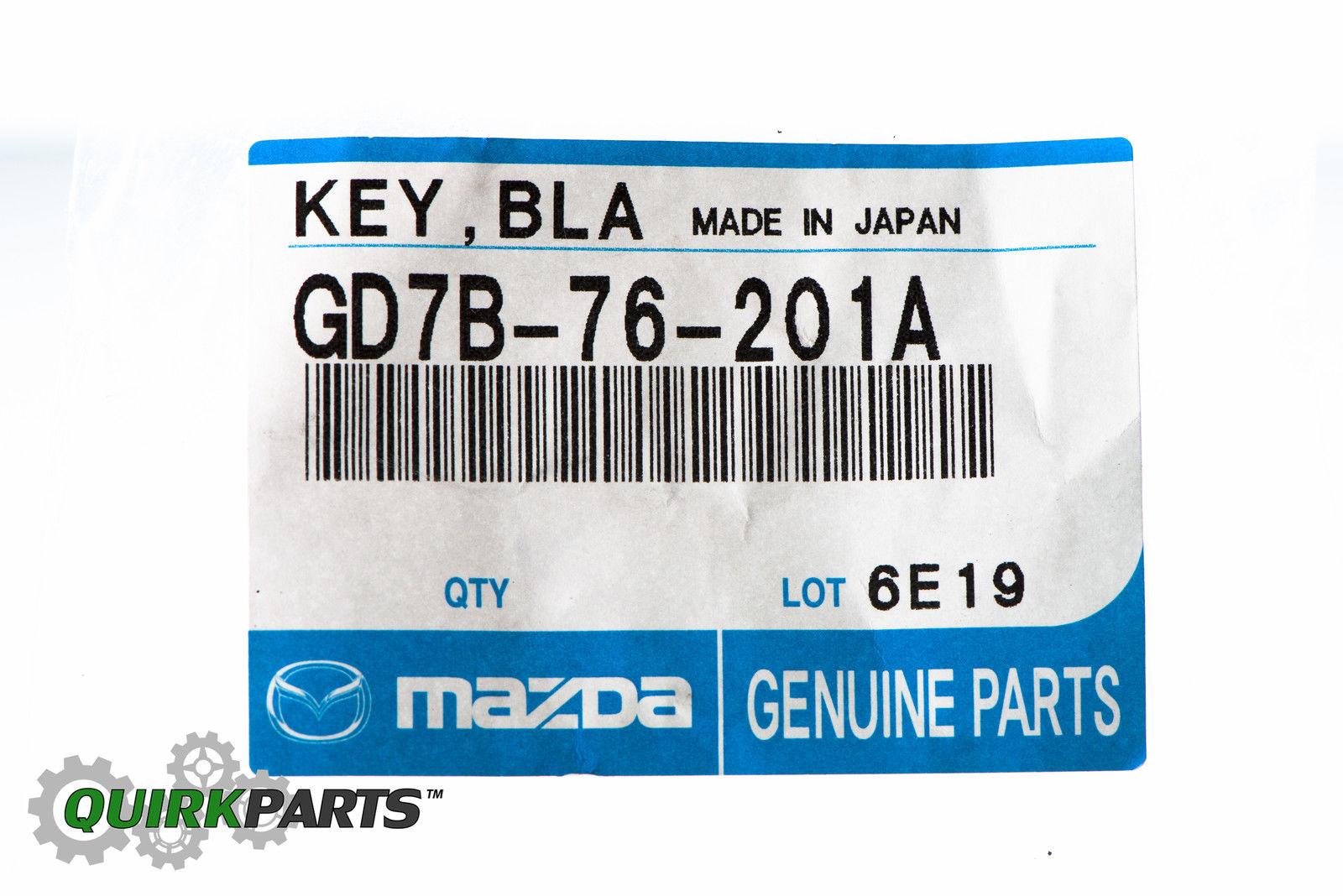 Key Blank Mazda Genuine GD7B-76-201A