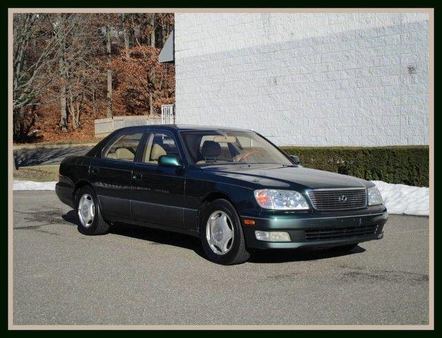 Chwalebne Awesome 2000 Lexus LS — 2000 Lexus LS 400 Imperial Jade Mica Sedan KQ54