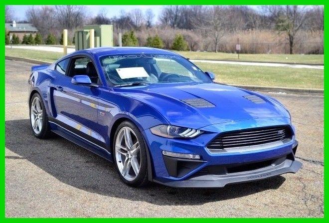Amazing Ford Mustang GT Premium Roush 2018 Roush Mustang Premium GT 401A Lightning Blue 5.0L V8