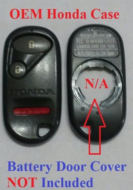 Great Oem HONDA KEYLESS ENTRY REMOTE KEY FOB Case Button Fix Repair  NHVWB1U523 -B1U521 2017 2018