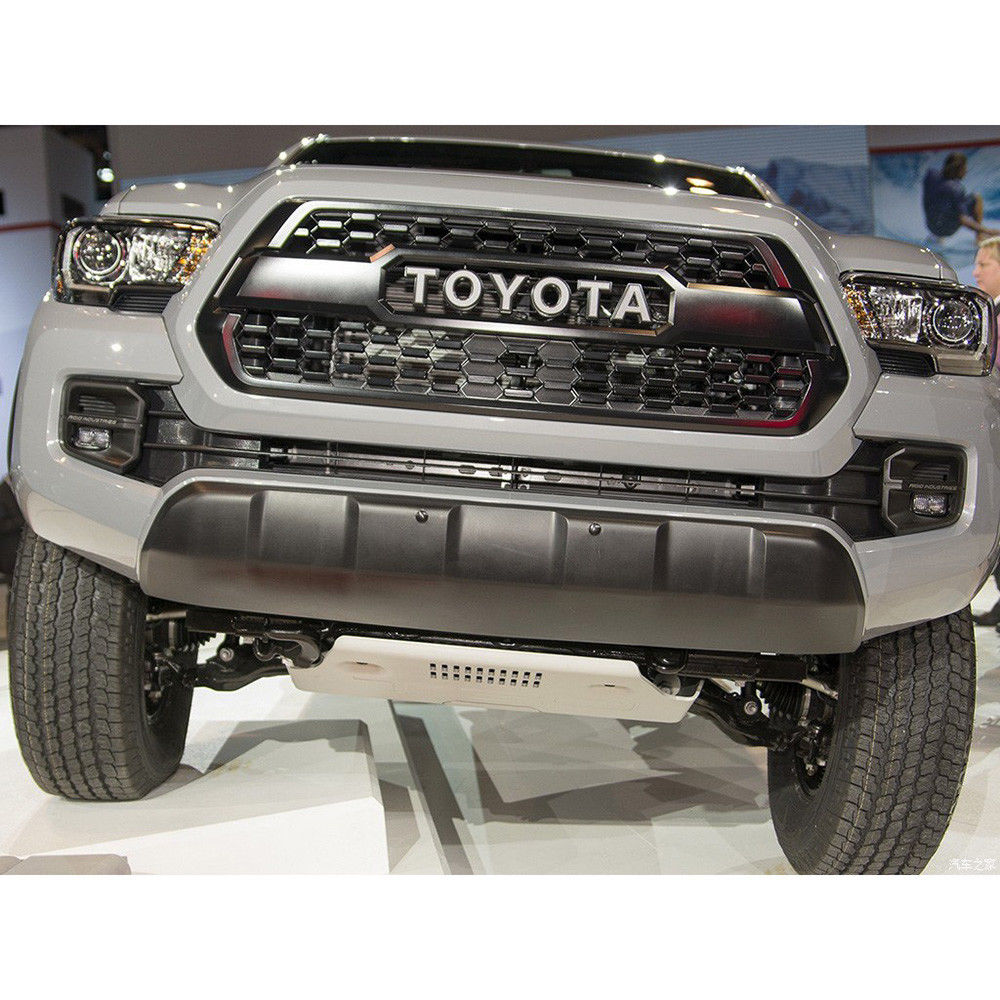 Awesome Front Bumper Hood Grille Black For Toyota Tacoma ...