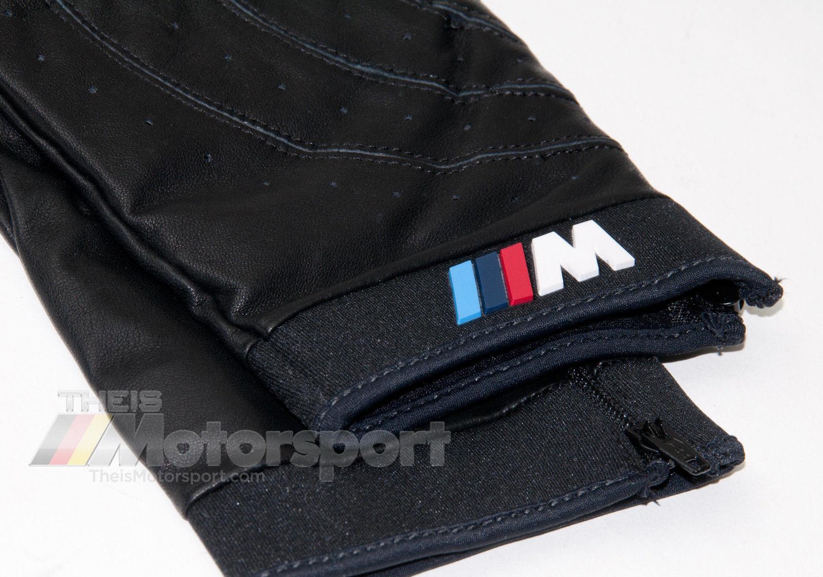 S M L XL XXL  80160435734//5//6//7//8 //////M Genuine BMW M Performance Driving Gloves