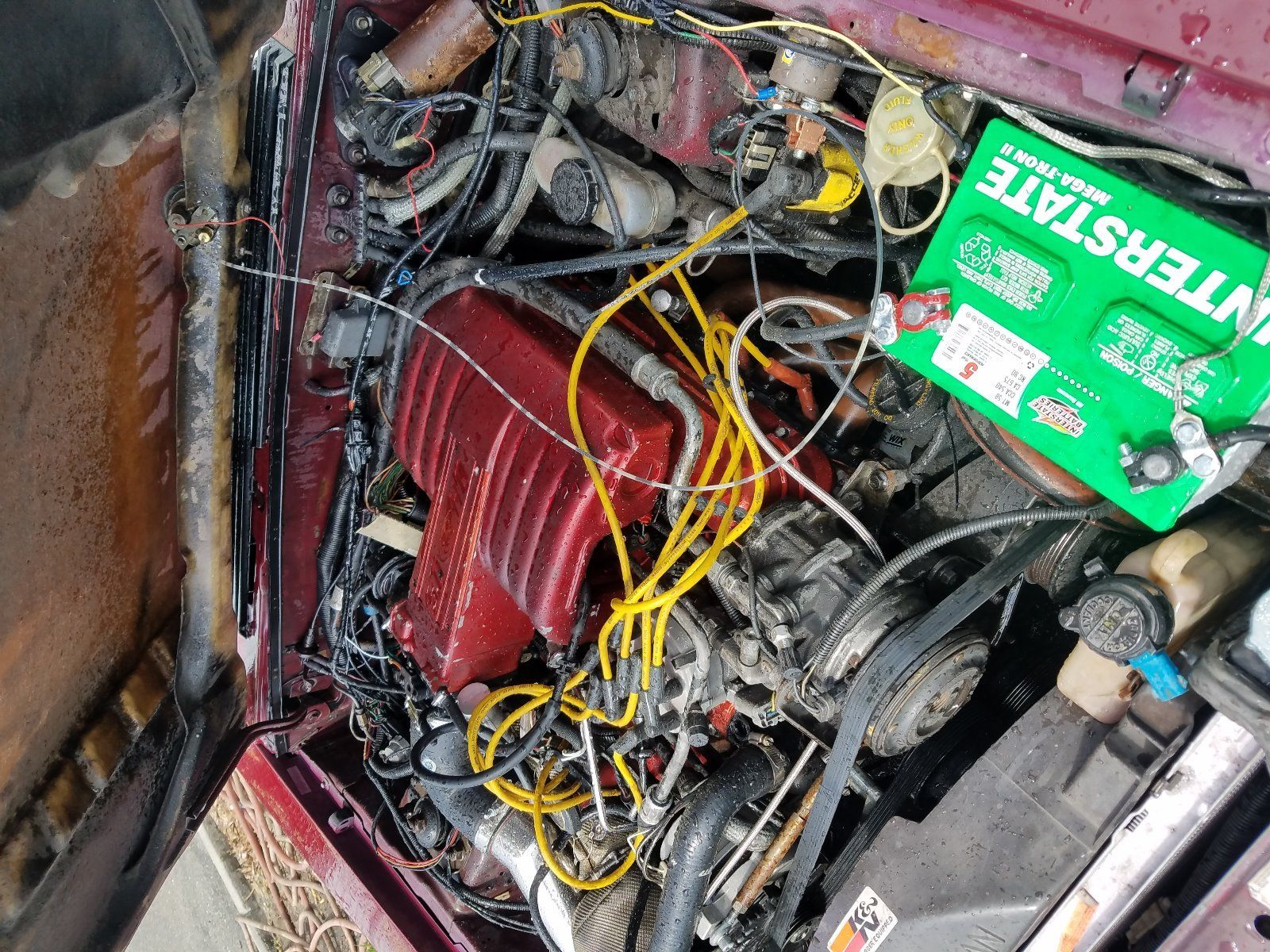 Great 1987 Ford Mustang Gt 50 Big Turbo Lots Of Engine Wiring Item Specifics