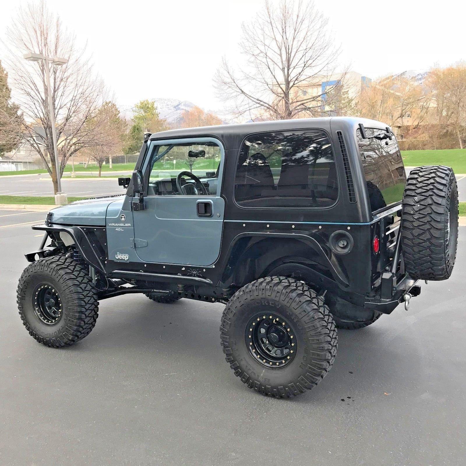 Awesomeamazinggreat Jeep Wrangler Sport Lifted Jeep Wrangler Tj Sport Door L I X Fully Built Rock Crawler