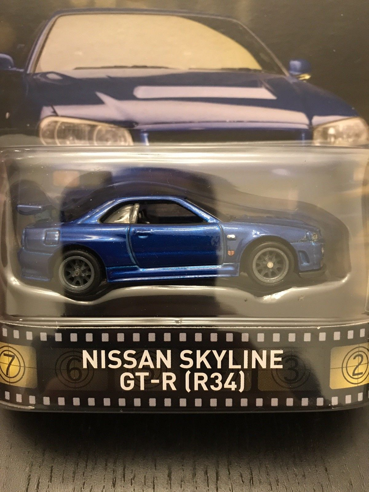Great Hot Wheels Fast And Furious Nissan Skyline Gt R R34 Blue 2018