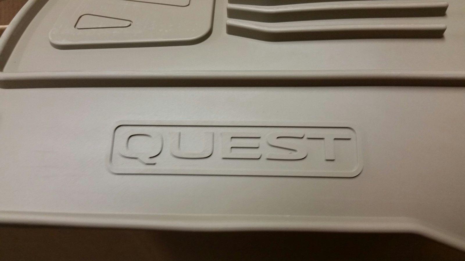 Great Nissan Quest Oem Rubber Floor Mats 2011 Amp Up 999e1