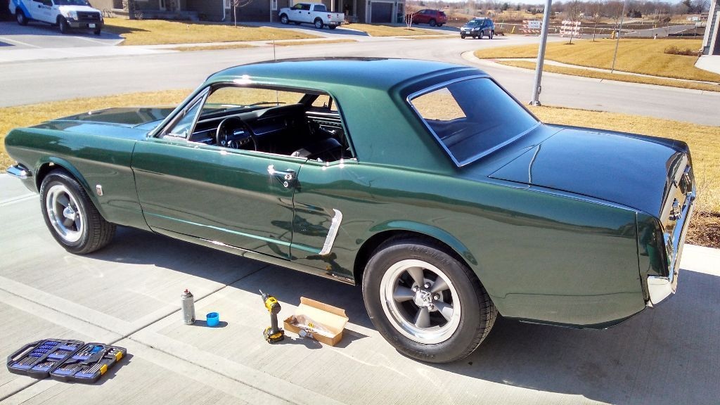 Great 1965 Ford Mustang Coupe 302 4 Sd All New 2017 2018