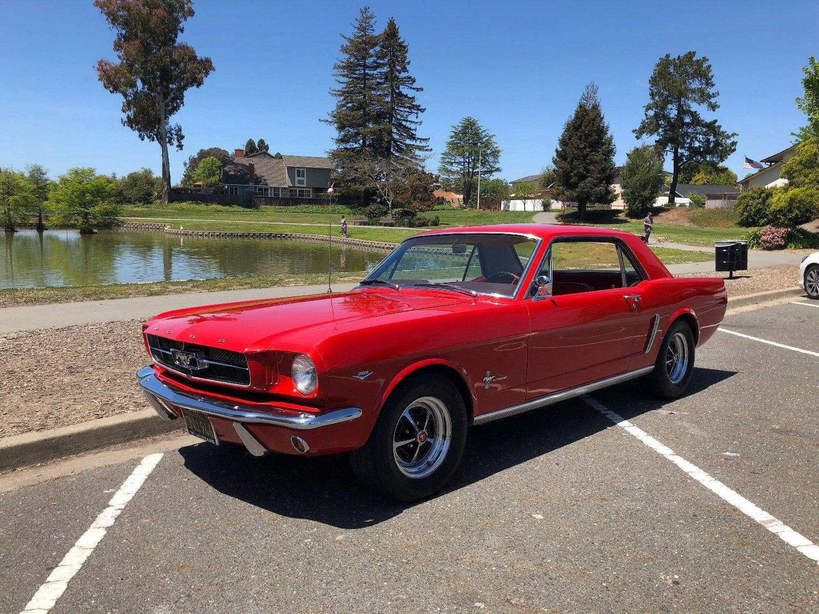 Amazing 1965 ford mustang 289 1964 1 2 ford mustang coupe rare 289 d code v8 nice ca car 2018 2019