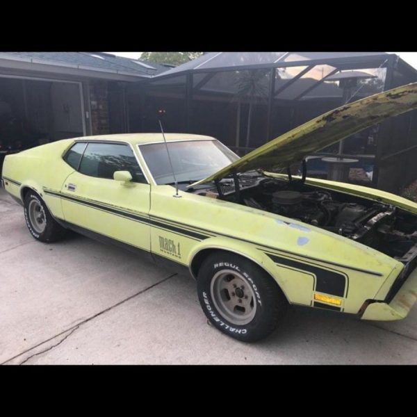 Awesome 1972 Ford Mustang Mach 1 1972 Ford Mustang Fastback Mach 1