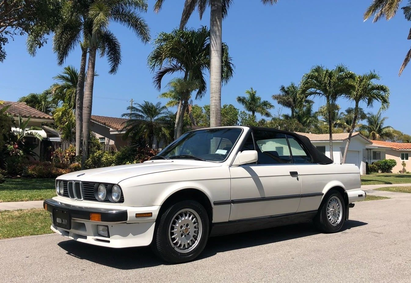 Awesome 1987 Bmw 3 Series 325i Convertible Es Sport 50k Miles 2017 2018