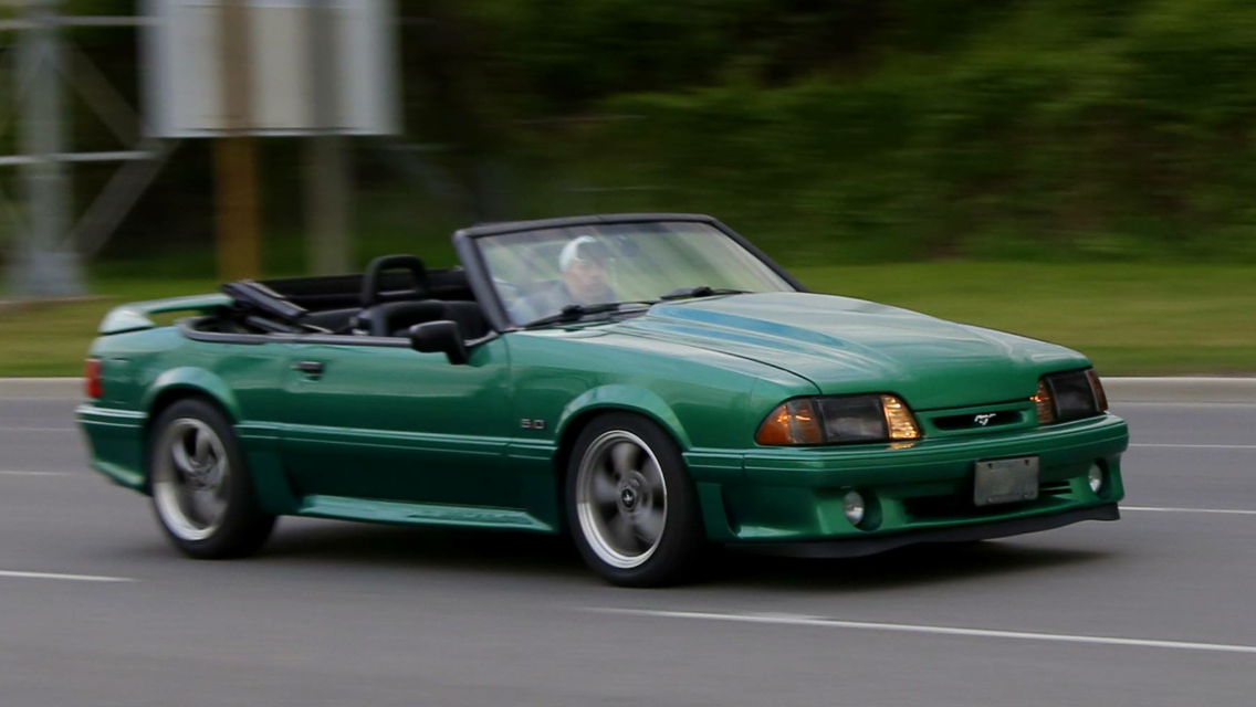 Awesome 1988 Ford Mustang Gt Foxbody Convertible
