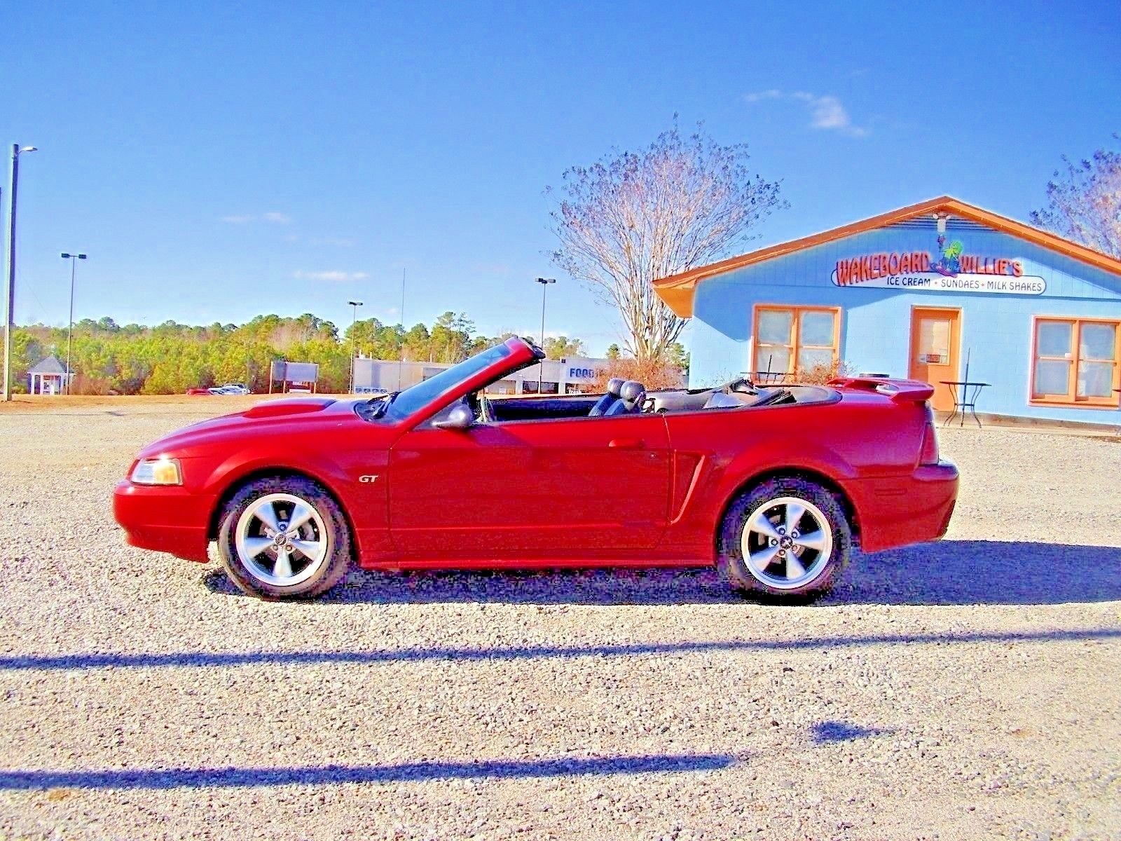 Amazing 2003 ford mustang gt convertible 2003 mustang gt convertible 4 6 l sohc v8 redfire clearcoat no reserve 2017 2018