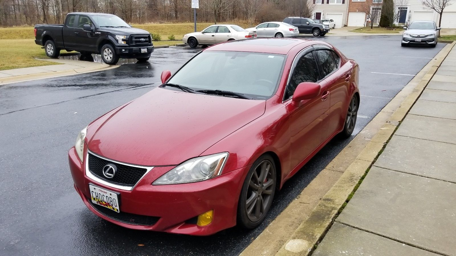 Great 2006 Lexus IS 350 2006 Lexus IS350 RWD Red V6 Automatic NEW ...