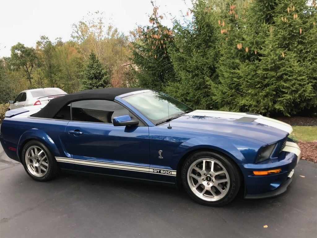 Great 2007 ford mustang shelby gt500 convertible ford mustang shelby gt500 convertible 5 4l supercharged 2007 15k miles 2017 2018