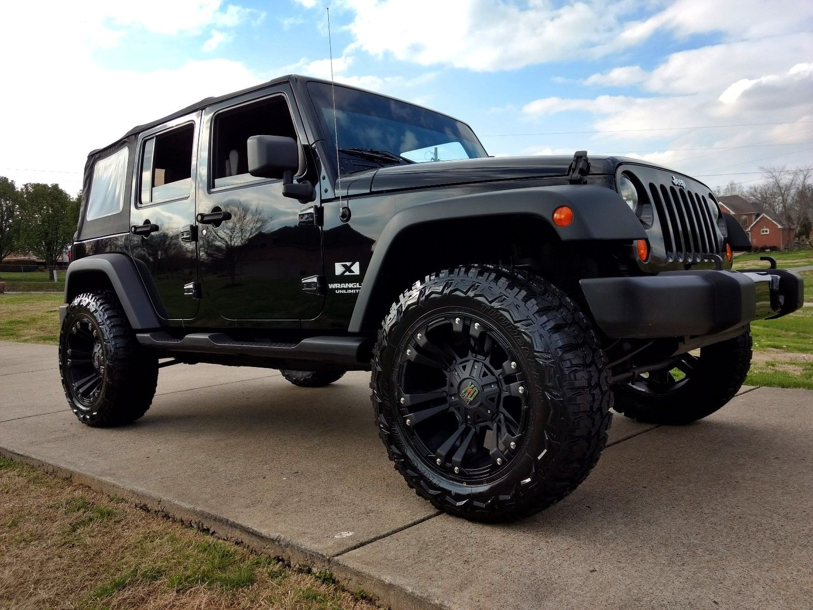 Awesome 2007 Jeep Wrangler Sport Trail Edition Lifted Unlimited Jk X 4 Door 4wd Soft Top Tinted Windows Etc 2018 2019