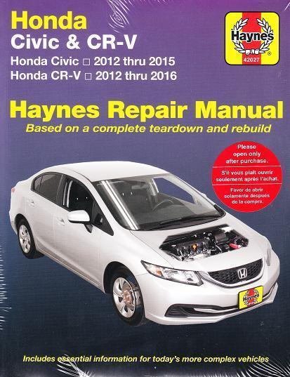 honda civic hybrid 2013 manual