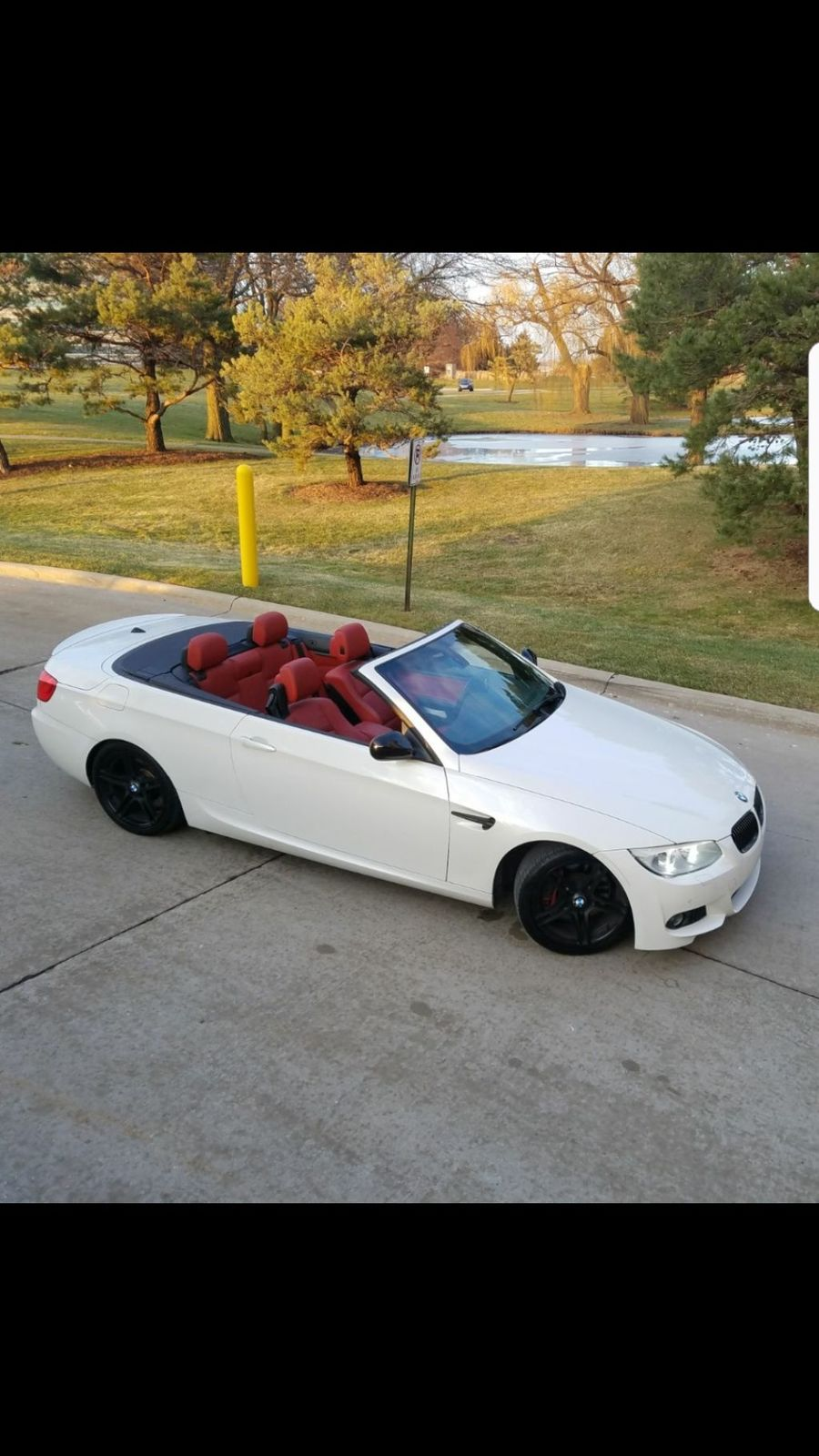Amazing 2017 Bmw 3 Series 335is 2door Convertible M Sport White Red Leather Interior M3 Jb4 Tuned 2018