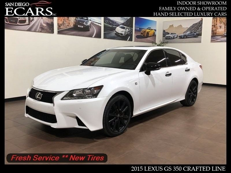 Amazing 2017 Lexus Gs Crafted Line F Sport Awd Sedan Premium Limited Model Red Interior 2018
