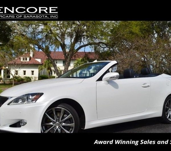 awesome 2015 lexus is 2dr convertible w/luxury package and