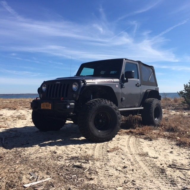 Amazing 2016 Jeep Wrangler Rubicon Hard Rock 2 Door Manual Transmission Soft Top Lifted 35 Inch Tires 2017 2018