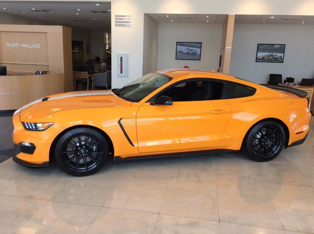 Awesome 2018 Ford Mustang Shelby Gt350 Orange Fury Metallic 2019