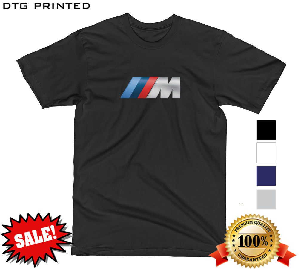Awesome bmw m logo motorsport twin turbo m2 m3 m4 m5 m6 sport performance t shirt tee 2018 2019