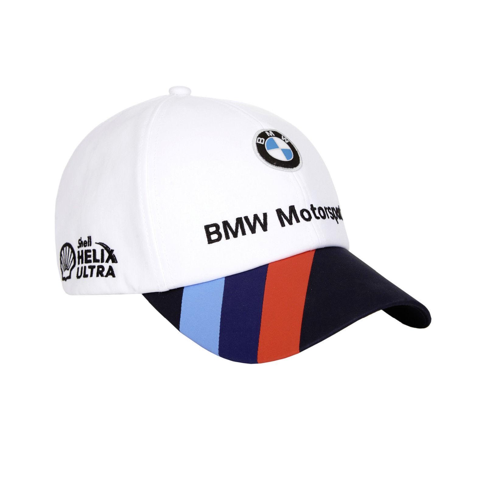 Awesome BMW Motorsports Puma Logo Men s White Adjustable Strap Team Hat M  V-Power Shell 2018-2019 1b2f605b986