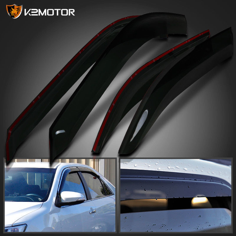 Awesome For 2012-2017 Toyota Camry Window Visors Rain Guard Vent Sun Shade  Deflector 4PC 2017 2018 687d9170aa5