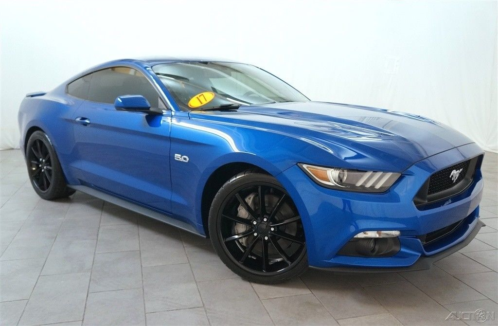 Amazing Ford Mustang Gt 2017 5l V8 32v Manual Rear Wheel Drive Coupe Premium Blue 2018 2019