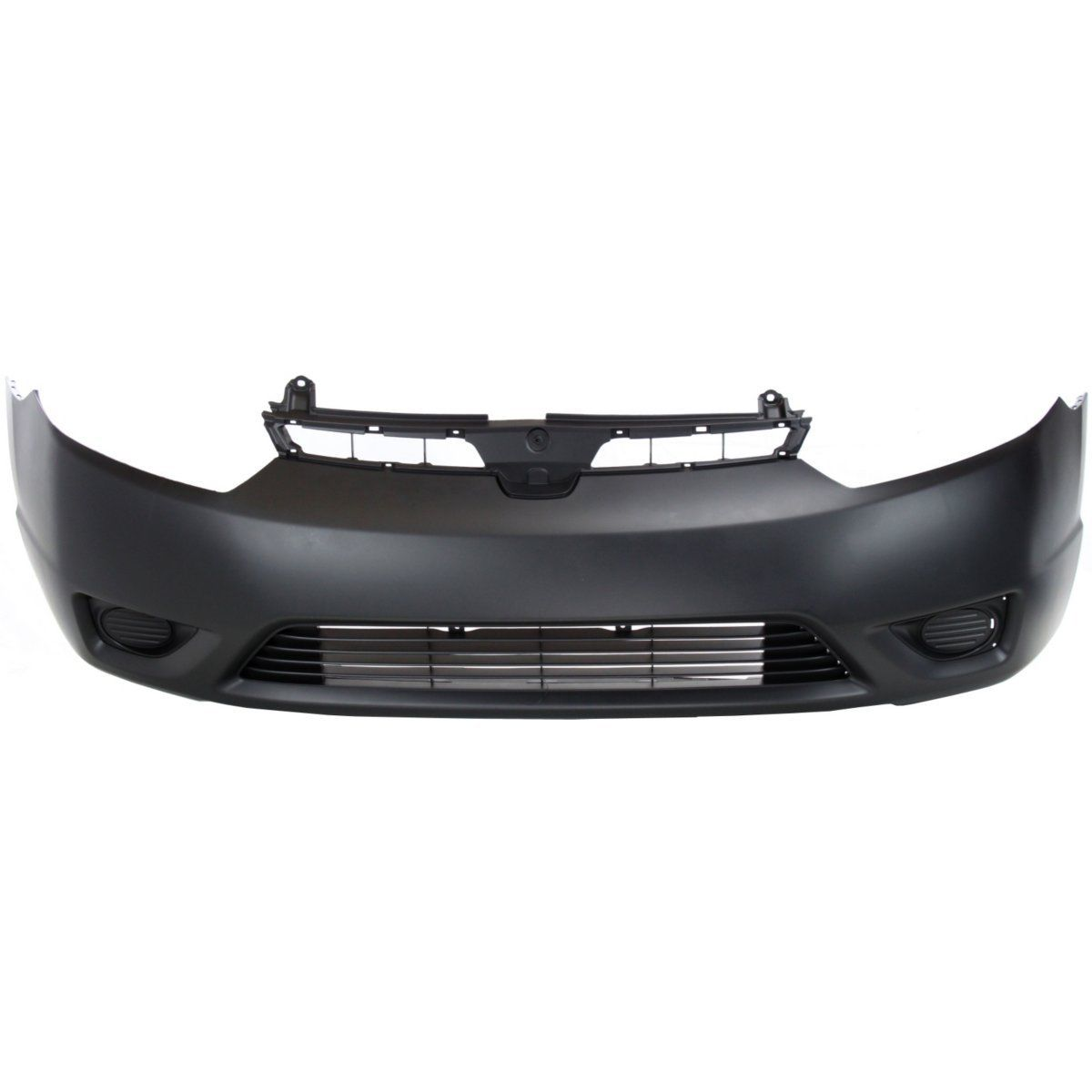 With emblem provision For Civic 2006-2008 Front Bumper Cover Plastic Primed