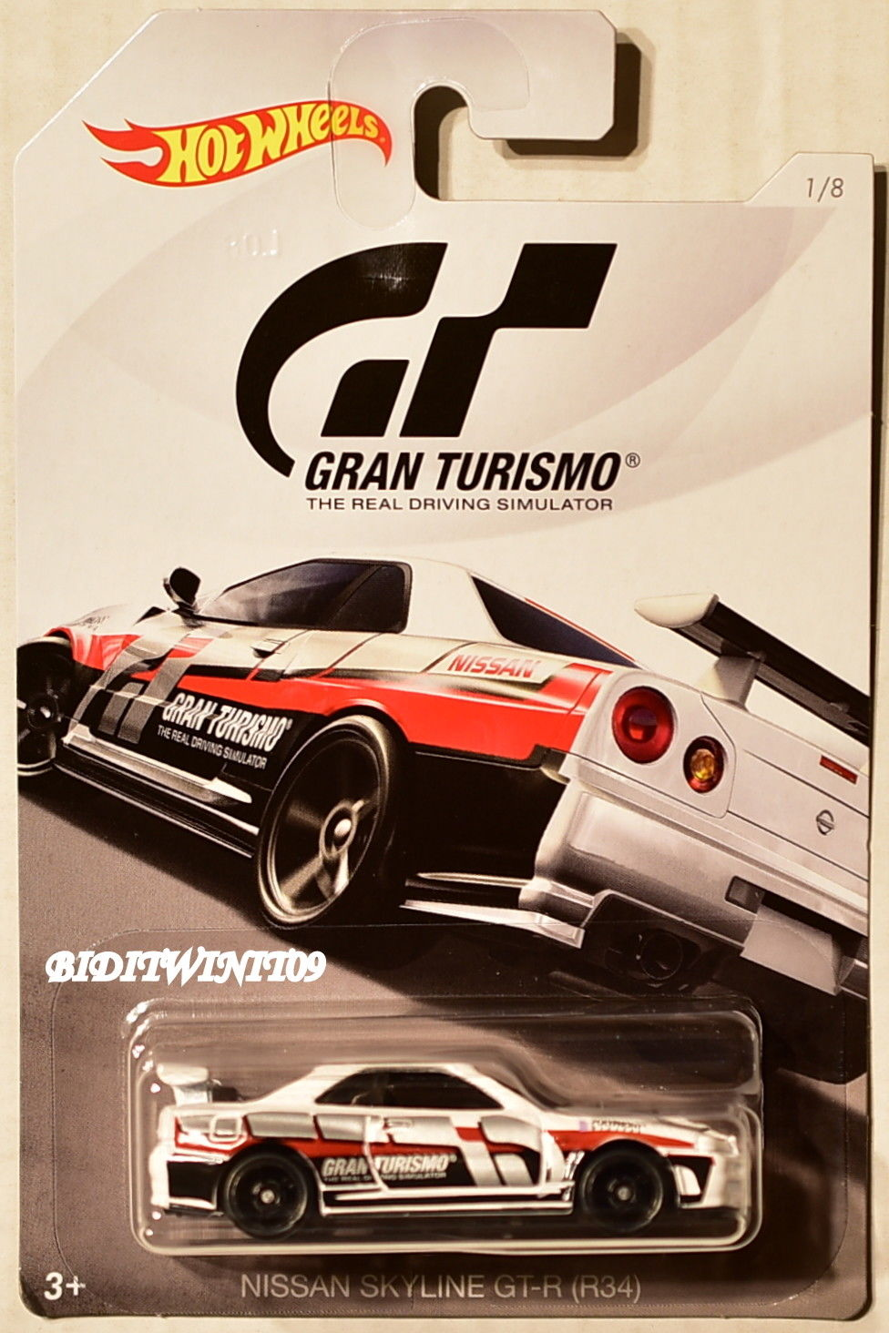 Great Hot Wheels Gran Turismo 2018 Nissan Skyline Gt R R34 White