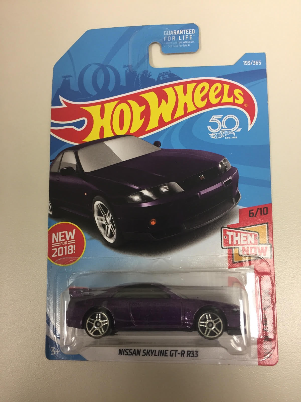 Amazing Hot Wheels 193 Then And Now 6 10 Nissan Skyline Gt R R33