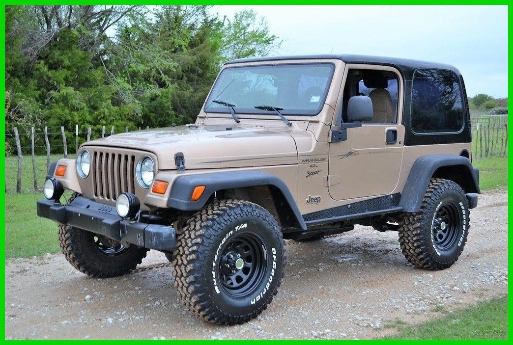 Awesome Jeep Wrangler Sport 1999 Jeep Wrangler Sport, TJ, Automatic, 95K  Miles, Texas Jeep 2018 2019