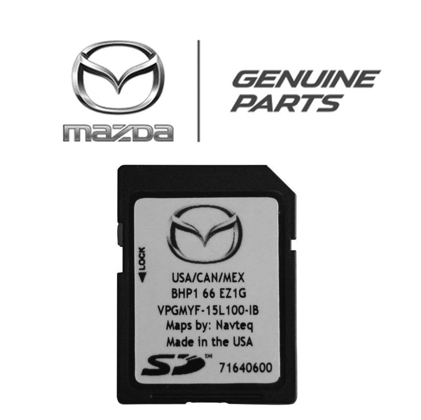 Amazing Latest 2018 2017 Mazda 3 Mazda 6 CX-3 CX-5 CX-9 Navigation SD Card  BHP1 66 EZ1G 2018-2019