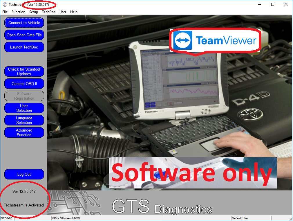 Great Latest Techstream 04/2018 OBD2 Toyota Lexus TIS Software V13 10 019  for Mini VCI 2018-2019