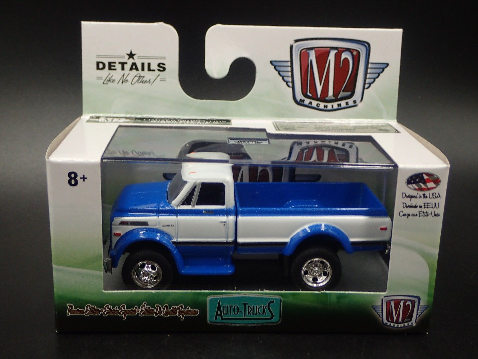 Awesome M2 MACHINES 1970 CHEVROLET C60 TRUCK AUTO TRUCKS R48 18-19 1:64  DIECAST 2018-2019