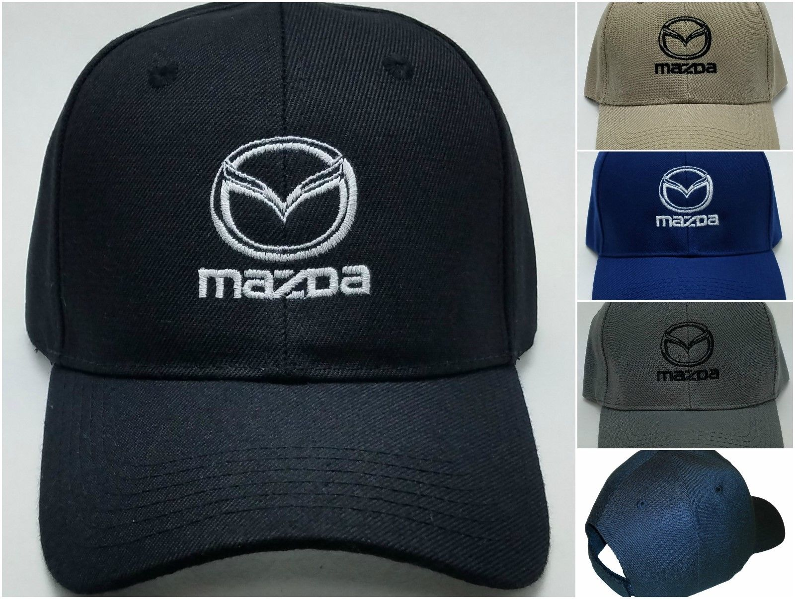 Great Mazda Embroidered Baseball Hat Cap Adjustable Strap CX-3   MX-5 Miata    Mazda 3 2017 2018 e0e036fb4a6